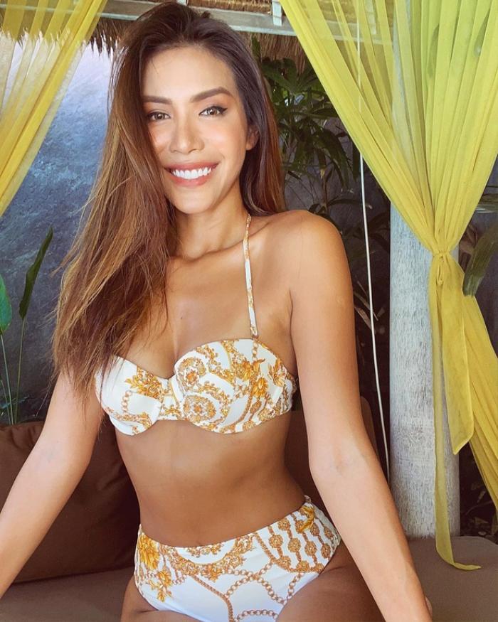 Diện bikini chưa đến 500 nghìn đồng, Minh Tú, Á hậu Huyền My vẫn khiến khán giả 'phát sốt'