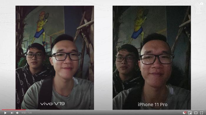 Reviewer Vinh Vật Vờ, Tony Phùng đánh giá cao khả năng Selfie Siêu Chụp Đêm trên vivo V19.