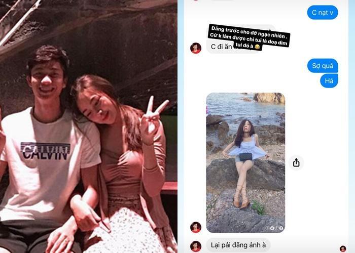 Phan Van Đức đe dọa đăng hình dìm Nhật Linh.