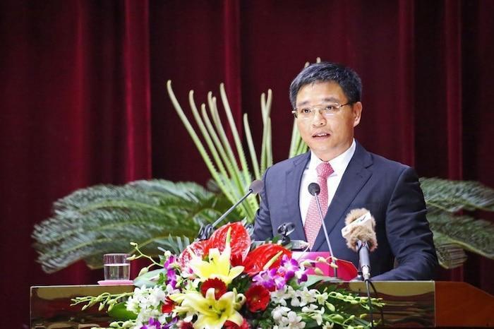 Ông Nguyễn Văn Thắng, Chủ tịch UBND tỉnh Quảng Ninh được bổ nhiệm là Hiệu trưởng Đại học Hạ Long nhiệm kỳ 2020-2025. Ảnh Vietnamnet