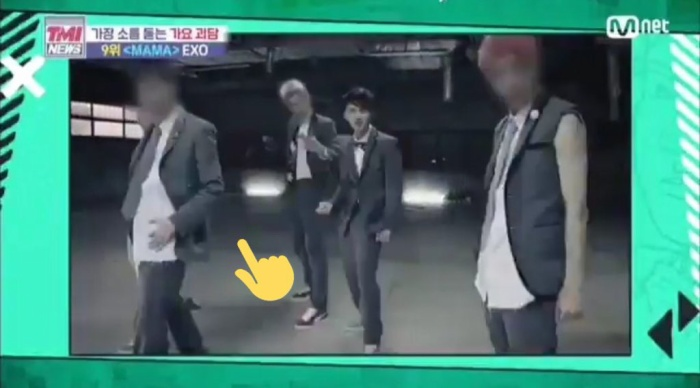 Mnet lại đắc tội với fan EXO: Làm mờ mặt thành viên Lay khi chiếu một đoạn video của nhóm ảnh 4