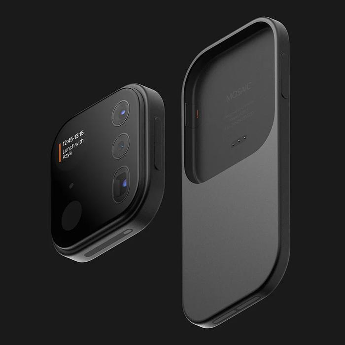 Mosaic có thể hoạt động độc lập, ngay cả khi tách rời khỏi điện thoại, tương tự như Project Ara - dự án hứa hẹn sẽ mang đến chiếc smartphone mà người dùng có thể thay đổi cấu hình như máy tính, của Google. Ví dụ, bạn muốn camera tốt hơn? Chỉ việc tháo camera cũ ra và gắn camera mới vào,… Tuy nhiên,Google đã khai tử Project Ara vào năm 2016 vì những hạn chế công nghệ.(Ảnh: Louis Berger)