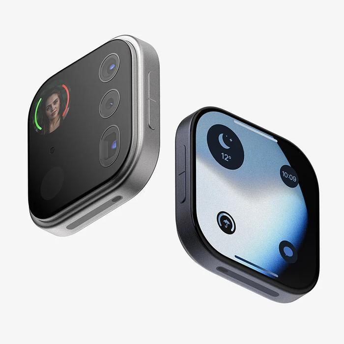 Chiếc iPhone này cũng có các nút âm lượng riêng nhưng không có bất kỳ cổng kết nối nào, vì vậy việc điều khiển sẽ được thực hiện thông qua smartphone.(Ảnh: Louis Berger)