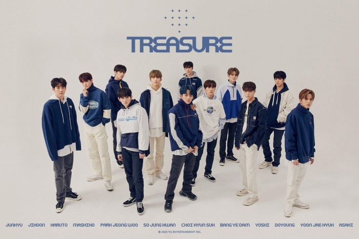 TREASURE là nhóm nhạc đông thành viên nhất của YG.