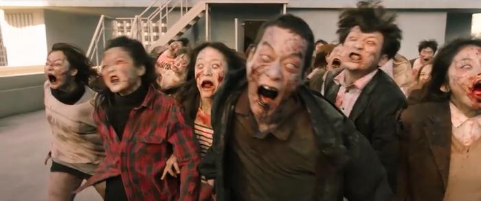 Trailer phim#ALIVE:Park Shin Hye và Yoo Ah In chiến đấu với lũ zombie cực ngầu ảnh 5