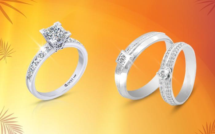 Khởi động mùa cưới 2020, Wedding Land - Thương hiệu Trang sức cưới thuộc Tập đoàn VBĐQ DOJI giới thiệu siêu phẩm nhẫn cầu hôn và nhẫn cưới kim cương 99 giác cắt, là biểu tượng của tình yêu hoàn hảo, là tín vật gắn bó trọn đời của đôi lứa yêu nhau. Bên cạnh đó, hàng ngàn mẫu nhẫn cưới hot nhất tại Wedding Land cũng sẽ là lựa chọn hoàn hảo cho các cặp đôi với các kiểu dáng, mức giá đa dạng. Ngoài ra, các cặp đôi mua nhẫn cưới trong tháng 6 này còn có cơ hộinhận thẻ Esteem Gift trị giá đến 1 triệu đồng đến 15/06/2020.