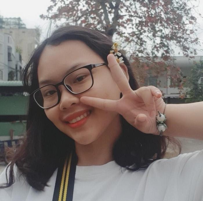Sinh viên Đỗ Đinh Tâm Như.