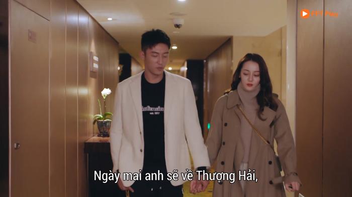 Tập 14 Hạnh phúc trong tầm tay: Sau nụ hôn ướt át, Hoàng Cảnh Du  Địch Lệ Nhiệt Ba dẫn nhau về khách sạn để ảnh 13