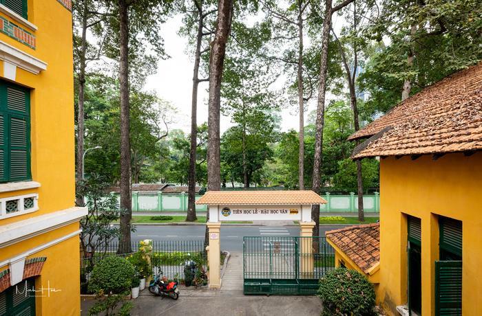 Vẻ đẹp nhuốm màu thời gian của ngôi trường THPT với kiến trúc Pháp đẹp nhất Sài Gòn ảnh 13