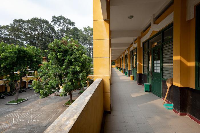 Vẻ đẹp nhuốm màu thời gian của ngôi trường THPT với kiến trúc Pháp đẹp nhất Sài Gòn ảnh 10