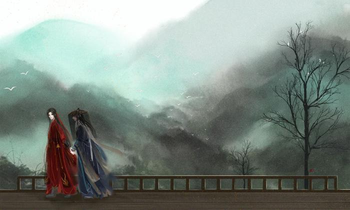 Cung Tuấn và Trương Triết Hạn đóng phim đam mỹ Thiên nhai khách của Priest ảnh 1