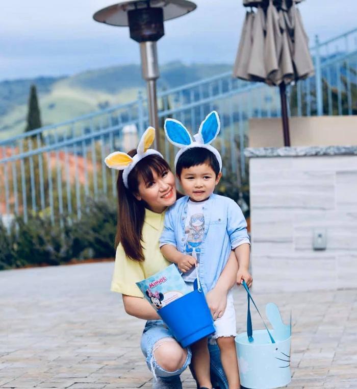 Bà xã Đan Trường khoe ảnh con trai Thiên Từ được vợ chồng mỹ nhân đẹp nhất Philippines bế 3 năm trước