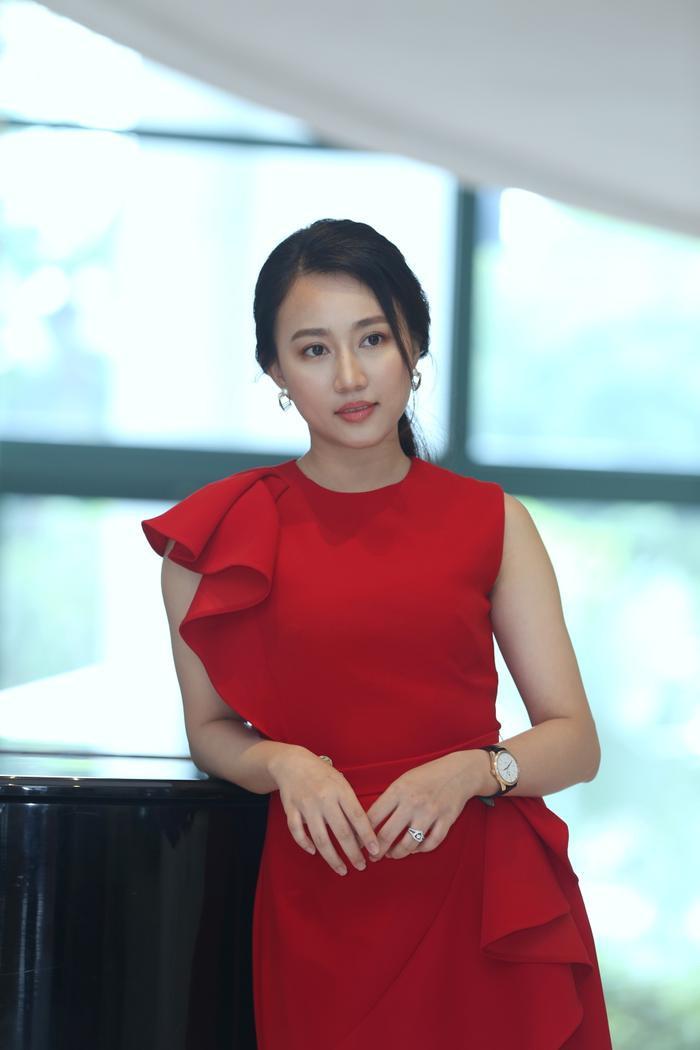 Nữ diễn viên Huỳnh Hồng Loan.
