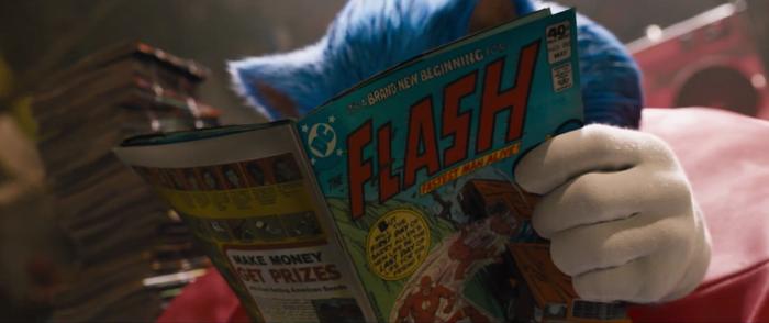 Có thể bạn chưa biết: Sonic là BẠN THÂN của siêu anh hùng The Flash