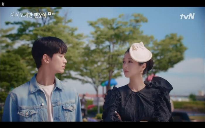 'Điên thì có sao' tập 4: Giả vờ thất tình dưới mưa Seo Ye Ji thành công được Kim Soo Hyun ôm ấp? Ảnh 4