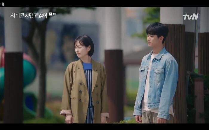 'Điên thì có sao' tập 4: Giả vờ thất tình dưới mưa Seo Ye Ji thành công được Kim Soo Hyun ôm ấp? Ảnh 5