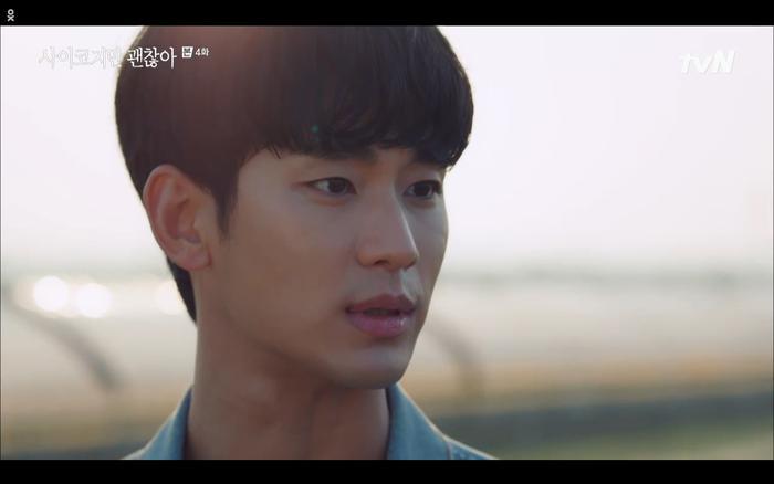 'Điên thì có sao' tập 4: Giả vờ thất tình dưới mưa Seo Ye Ji thành công được Kim Soo Hyun ôm ấp? Ảnh 13