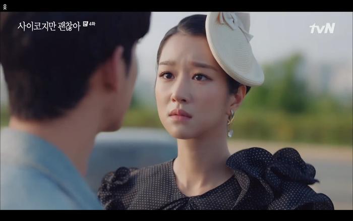'Điên thì có sao' tập 4: Giả vờ thất tình dưới mưa Seo Ye Ji thành công được Kim Soo Hyun ôm ấp? Ảnh 14