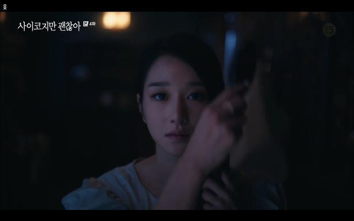 'Điên thì có sao' tập 4: Giả vờ thất tình dưới mưa Seo Ye Ji thành công được Kim Soo Hyun ôm ấp? Ảnh 19