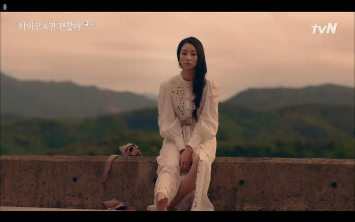 'Điên thì có sao' tập 4: Giả vờ thất tình dưới mưa Seo Ye Ji thành công được Kim Soo Hyun ôm ấp? Ảnh 33
