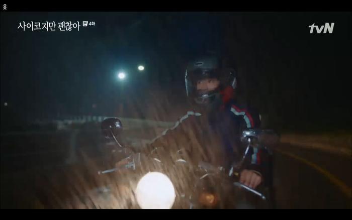 'Điên thì có sao' tập 4: Giả vờ thất tình dưới mưa Seo Ye Ji thành công được Kim Soo Hyun ôm ấp? Ảnh 36