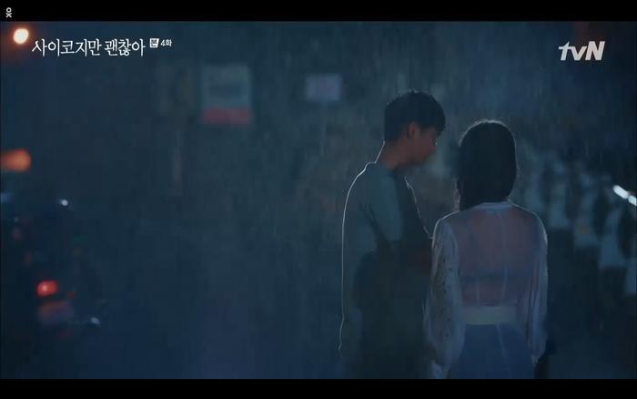 'Điên thì có sao' tập 4: Giả vờ thất tình dưới mưa Seo Ye Ji thành công được Kim Soo Hyun ôm ấp? Ảnh 39