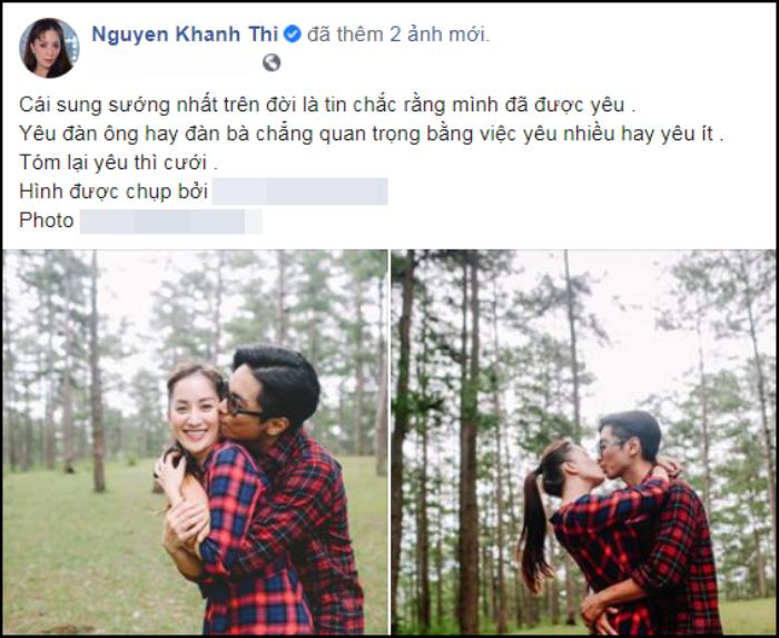 Khánh Thi phủ nhận thông tin sắp tổ chức đám cưới với Phan Hiển