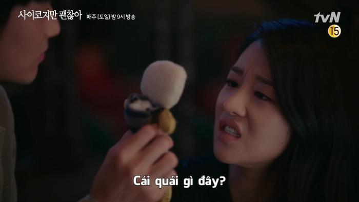 Điên thì có sao: Seo Ye Ji tự ví như 'chú chó mùa xuân', thoát khỏi xiềng xích bằng cách tự cắt đi mái tóc 'ma ám' của mình Ảnh 8