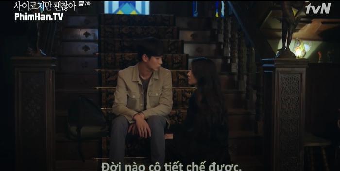 Điên thì có sao: Seo Ye Ji tự ví như 'chú chó mùa xuân', thoát khỏi xiềng xích bằng cách tự cắt đi mái tóc 'ma ám' của mình Ảnh 7
