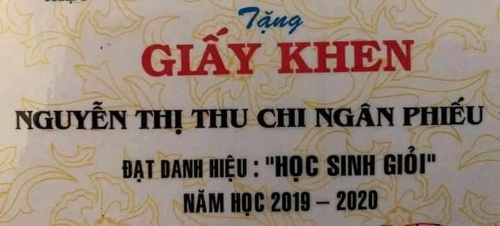 Cái tên đặc biệt của nữ sinh in trên tấm giấy khen 'học sinh giỏi' khiến CĐM tranh cãi