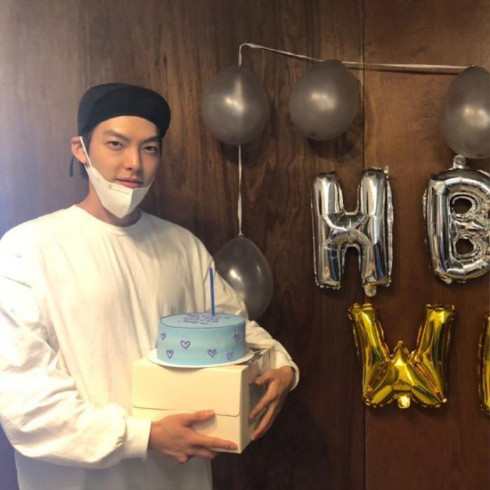 Kim Woo Bin mừng sinh nhật tuổi 32 bên 'chị đẹp' Shin Min Ah? Ảnh 3