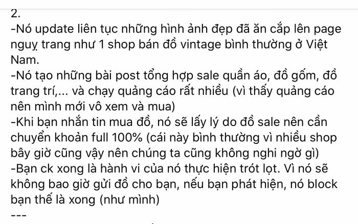Cảnh báo chiêu lừa mới khi mua hàng online qua Facebook, mọi người cẩn thận kẻo mất tiền oan Ảnh 2