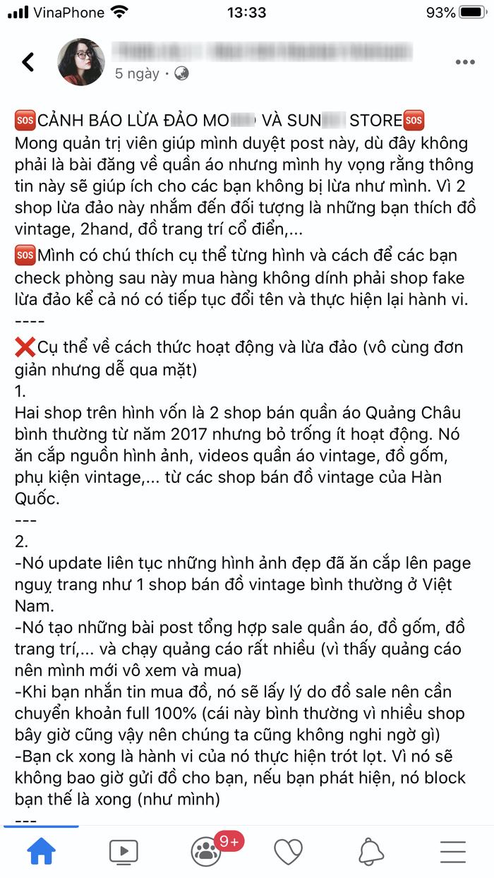 Cảnh báo chiêu lừa mới khi mua hàng online qua Facebook, mọi người cẩn thận kẻo mất tiền oan Ảnh 1