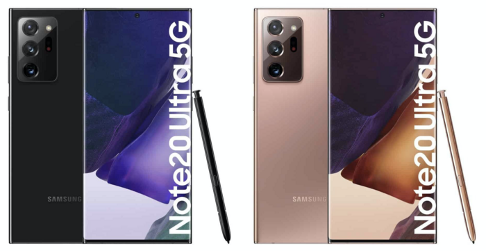 Galaxy Note20 và Note20 Ultra lộ diện loạt màu sắc cực bắt mắt, SamFan chắc chắn sẽ thích mê Ảnh 2