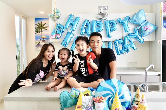 Vợ chồng Khánh Thi làm sinh nhật hoành tráng cho con trai ở resort 5 sao Ảnh 1
