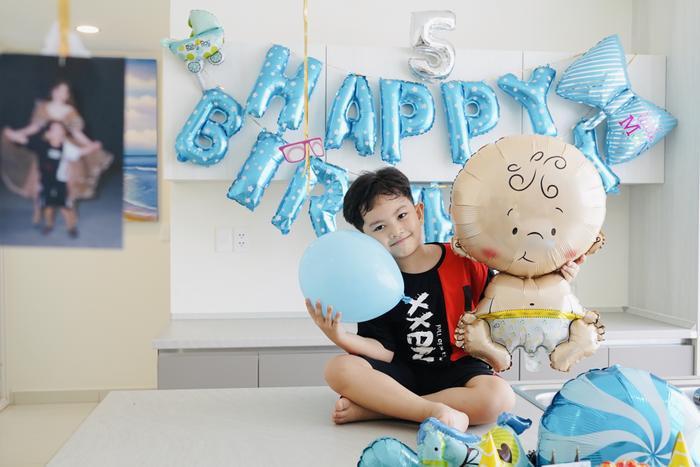 Vợ chồng Khánh Thi làm sinh nhật hoành tráng cho con trai ở resort 5 sao Ảnh 13