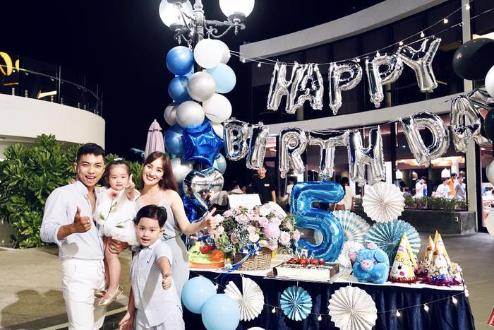 Vợ chồng Khánh Thi làm sinh nhật hoành tráng cho con trai ở resort 5 sao Ảnh 10