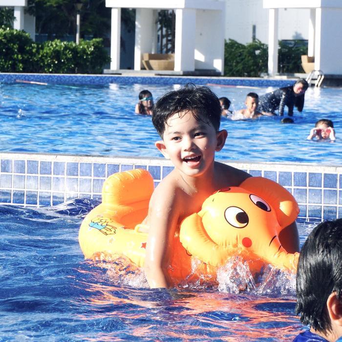 Vợ chồng Khánh Thi làm sinh nhật hoành tráng cho con trai ở resort 5 sao Ảnh 14