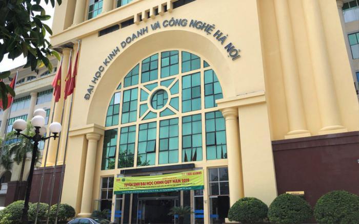 Đại học Kinh doanh và Công nghệ Hà Nội buộc thôi học hơn 3.400 sinh viên