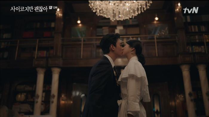 Kim Soo Hyun và Seo Ye Ji hôn nhẹ giúp rating phim 'Điên thì có sao' tăng nhẹ - Phim của Ji Chang Wook rating tăng 0.6% Ảnh 6