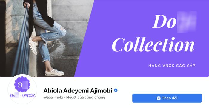 Facebook cố nghị sĩ người Nigeria qua đời vì COVID-19 bị hacker Việt chiếm dụng để bán hàng online Ảnh 4