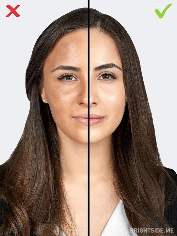 Những sai lầm make up làm bạn như già đi 10 tuổi, khiến người yêu chạy mất dép Ảnh 1