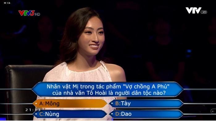 Lương Thùy Linh là hoa hậu Việt Nam đầu tiên dám thử thách trí tuệ với gameshow Ai là triệu phú Ảnh 6