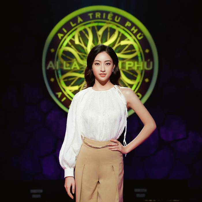 Lương Thùy Linh là hoa hậu Việt Nam đầu tiên dám thử thách trí tuệ với gameshow Ai là triệu phú Ảnh 1