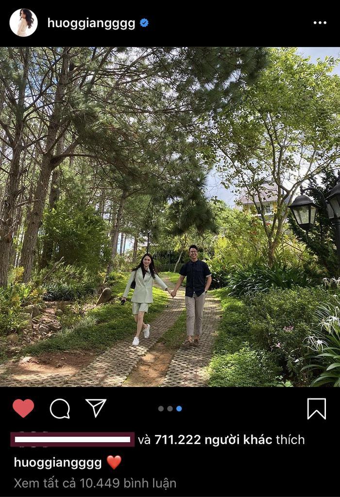 Ảnh Hương Giang tình tứ với Matt Liu trở thành bức hình có lượng tim lớn nhất trên Instagram các sao Việt Ảnh 4