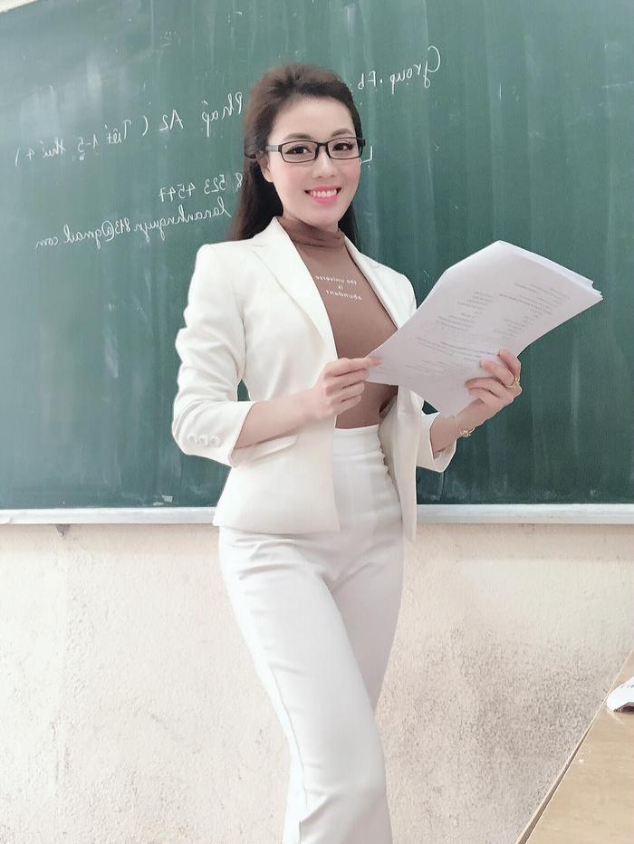 Thành tích học vấn 'không phải dạng vừa' của giảng viên 'hotgirl' Âu Hà My: Được tuyển thẳng vào đại học, sở hữu học vị Thạc sĩ... Ảnh 3