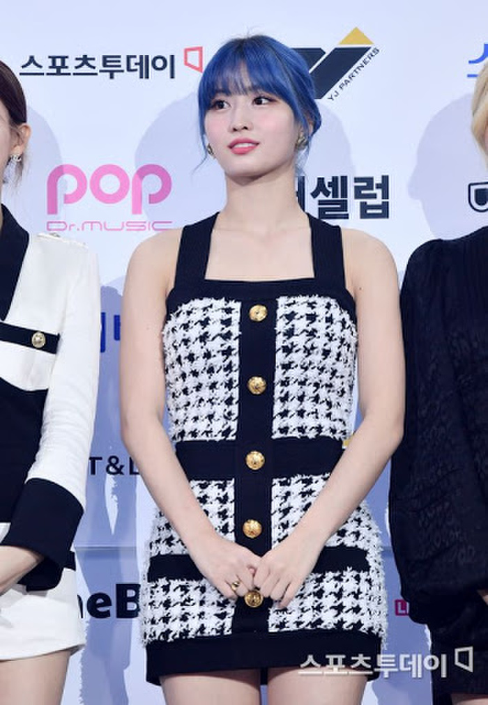 Kim Woo Seok, TWICE, Red Velvet, I*ZONE và ITZY đổ bộ thảm xanh 'Soribada Awards 2020' Ảnh 16