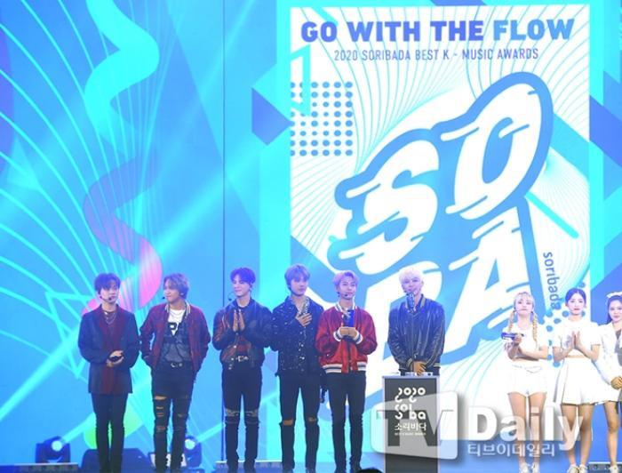Người chiến thắng 'SOBA 2020': BTS nhận Daesang, Kang Daniel - TWICE và Red Velvet ôm về nhiều cúp lớn Ảnh 33