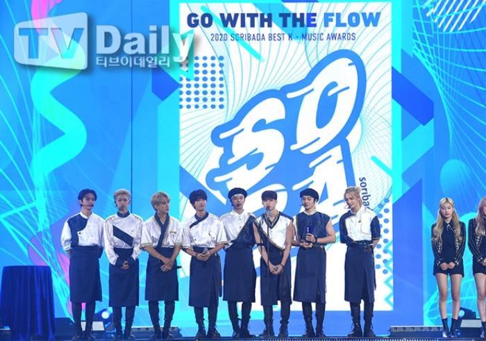 Người chiến thắng 'SOBA 2020': BTS nhận Daesang, Kang Daniel - TWICE và Red Velvet ôm về nhiều cúp lớn Ảnh 19