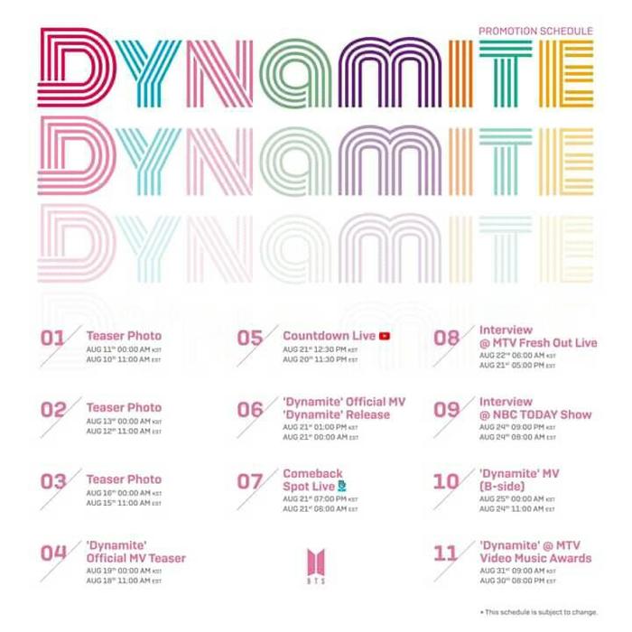 Thừa thắng xông lên, BTS thông báo sẽ có DYNAMITE phiên bản... Aucostic và EDM